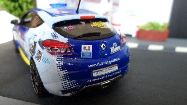 Renault Mégane tour de France 2013 vue arrière !!!