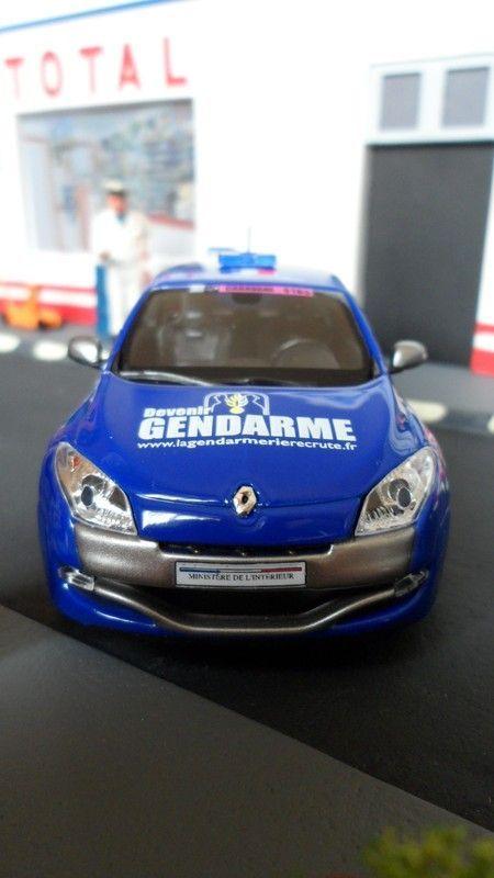 Renault Mégane tour de France 2013 vue de face !!!