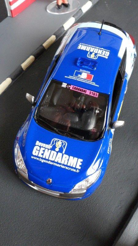 Renault Mégane tour de France 2013 vue de dessus !!!
